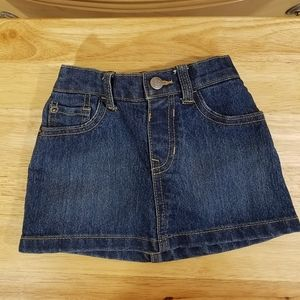 1989 Place Denim Skirt, sz 2T